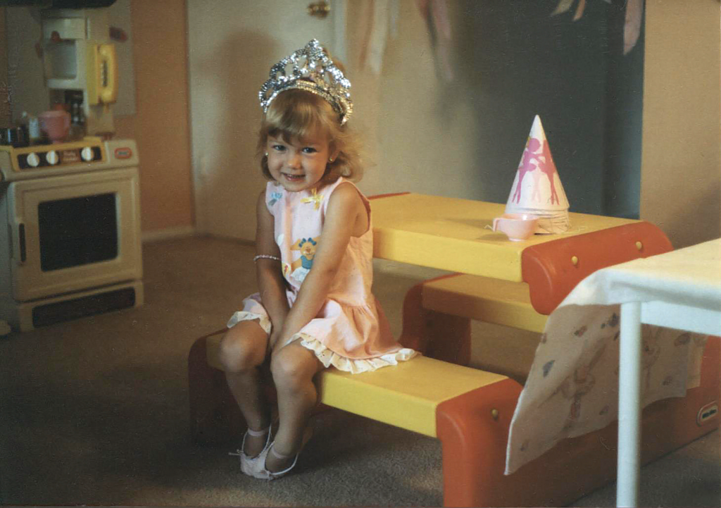 PartyGirl Pearl as a Kid, 3rd Birthday